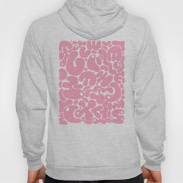 millennial pink blobs Hoody