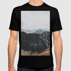 interstellar - landscape photography Black MEDIUM Mens Fitted Tee