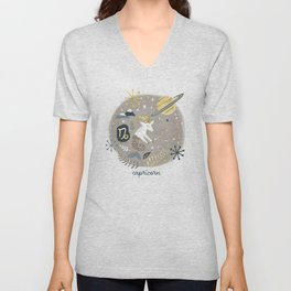 Capricorn Earth Unisex V-Neck