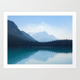 Afternoon on Emerald Lake Art Print