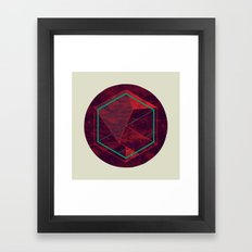 Thinking of a Foreign Girl Framed Art Print