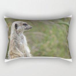 Meerkat Gaze Rectangular Pillow