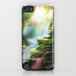 Magical Forest Stream iPhone Case