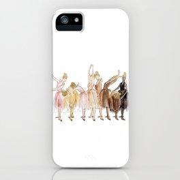 Ballerinas iPhone Case