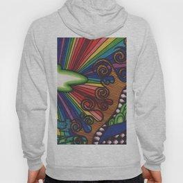 rainbow safari Hoody