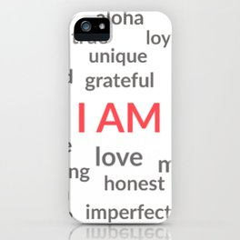 I AM iPhone Case