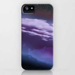Stars and Clouds iPhone Case