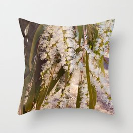Bottlebrush Serenity 2 Throw Pillow