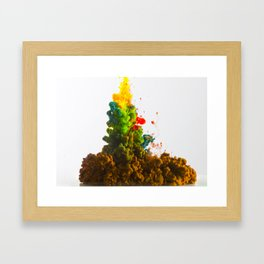 Colors Alive Framed Art Print