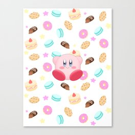 Kirby & Sweets Canvas Print