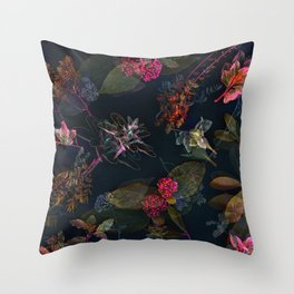 Fall in Love #buyart #floral Throw Pillow