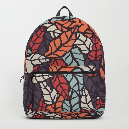 Nature leaves 006 Backpack