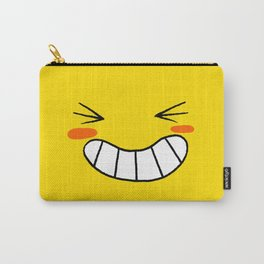 Happy Face Carry-All Pouch