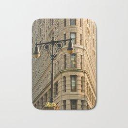 Flatiron Building Architecture in NYC Bath Mat