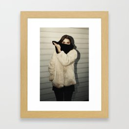 Bandit Framed Art Print