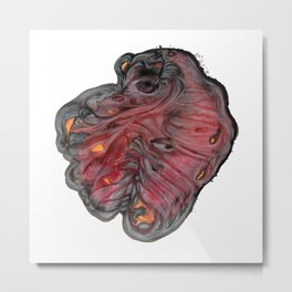 An Oddly-Beating Heart Metal Print