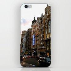 Gran Vía - Madrid iPhone & iPod Skin
