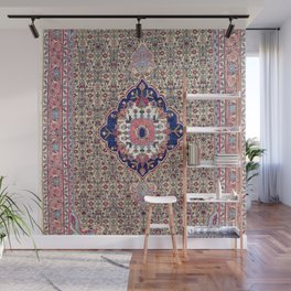 Bijar Kurdish Northwest Persian Carpet Print Wall Mural