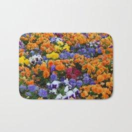 Pancy Flower 2 Bath Mat