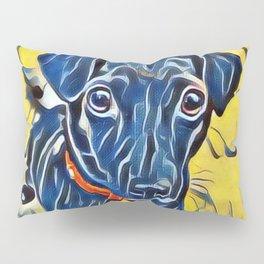 Pop Art Jack Russell Pillow Sham