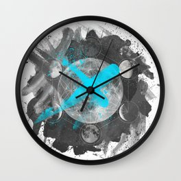 MOONTIPLE PERSONALITIES Wall Clock