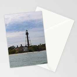 Swimmers on Sanibel Stationery Cards