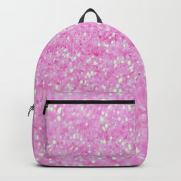 Pink Glitter Backpack