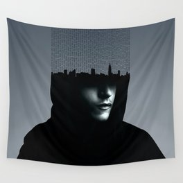 Mr Robot Typography Wall Tapestry
