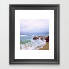 Before the Rain Framed Art Print