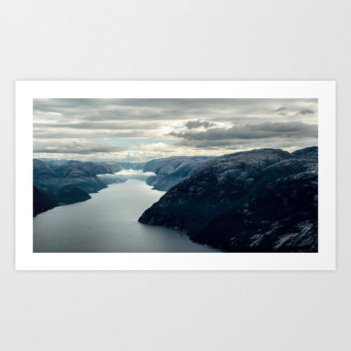 Moody landscape III Art Print