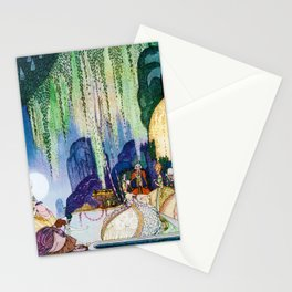 12,000pixel-500dpi - Kay Nielsen - Felicia Looks At The Queen Of The Forest Stationery Cards