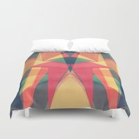 be happy Duvet Covers featuring Happy by VessDSign