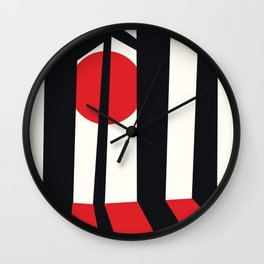 Japan Forest. Wall Clock