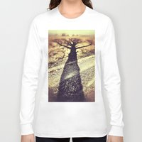 shadow Long Sleeve T-shirts featuring Shadow by Jessica Morelli
