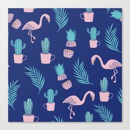 Summer Tropical Vibes Canvas Print