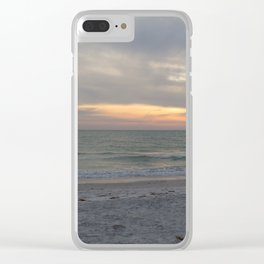 Sunset on the Gulf of Mexico Clear iPhone Case