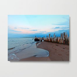 Relics by the Sea Metal Print