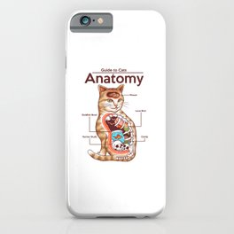 Anatomy of a Cat iPhone Case