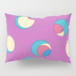 Cut the holes! Fuchsia sheet Pillow Sham