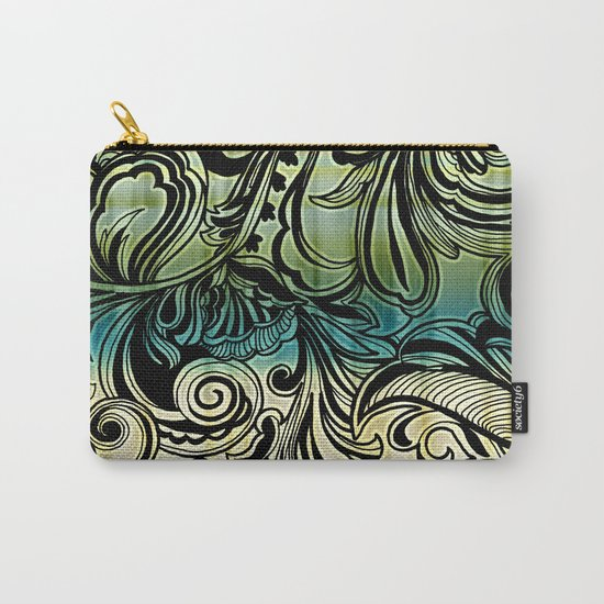 Swirl and Curl Carry-All Pouch