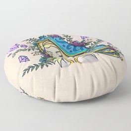 Maiden of Ice Floor Pillow