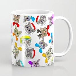Holiday Festive Party Cats Coffee Mug