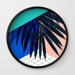 Eclectic Geometry Wall Clock
