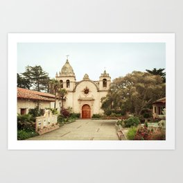 Carmel Mission Art Print