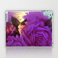 purple roses and light Laptop & iPad Skin
