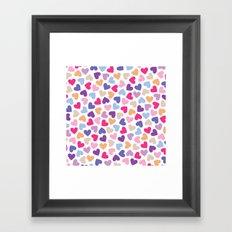 Hearts #5 Framed Art Print