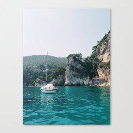 Mediterranean Beach Canvas Print