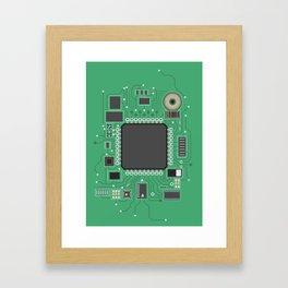 Chip set Framed Art Print