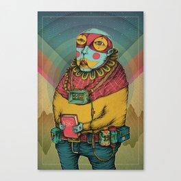Holy Clown Canvas Print