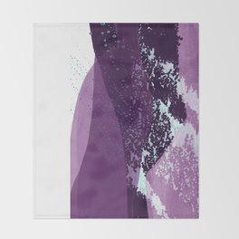 A Bigger Wave Throw Blanket